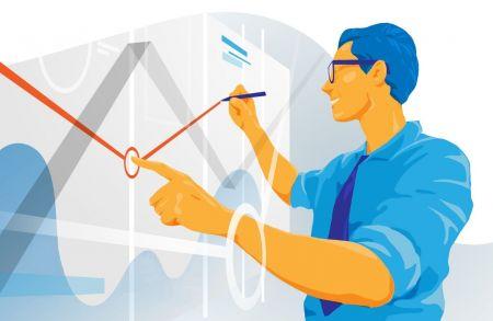 IQ Option'da geri çekilme ticareti yapmak için trend çizgileri nasıl kullanılır?
