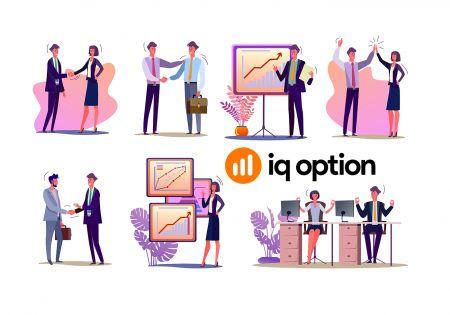 Ortaklık Programına nasıl katılınır ve IQ Option'da İş Ortağı olunur